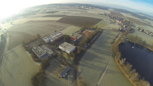 Gopro blade aerial view.