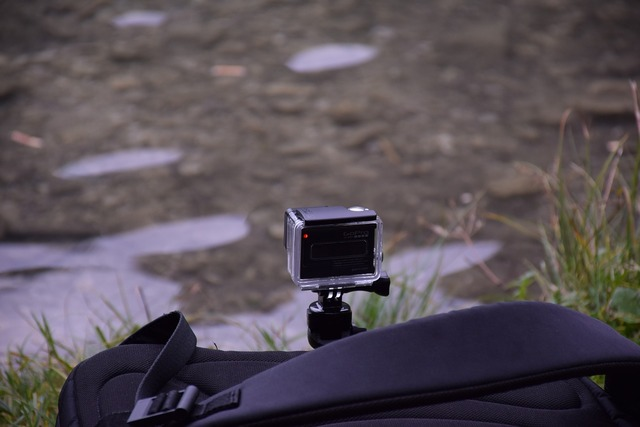 Gopro camera action, science technology.