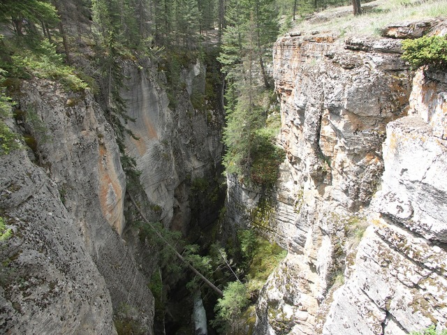 Gorge bach canyon.