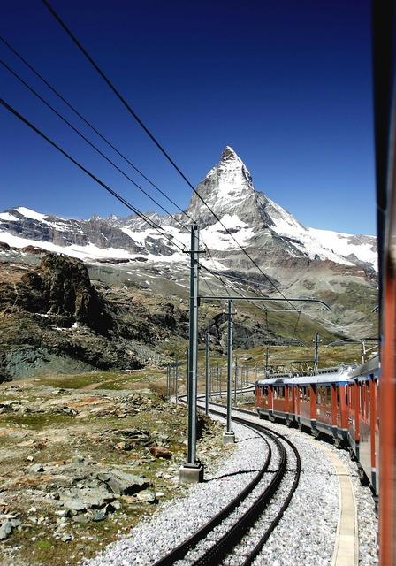 Gornergrat matterhorn switzerland, travel vacation.