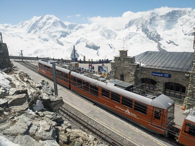 Gornergrat rack railway gornergratbahn.