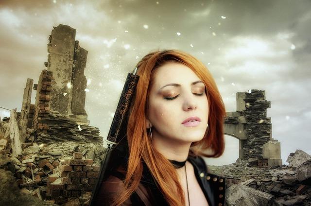 Gothic fantasy sci-fi, beauty fashion.
