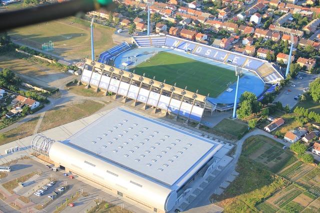 Gradski vrt stadium football, sports.