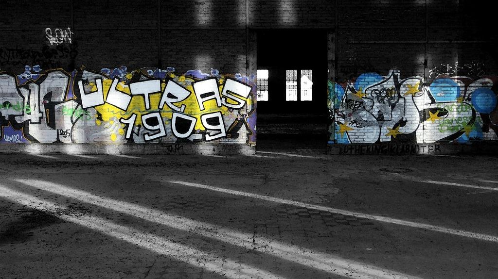Graffiti art lettering, industry craft.