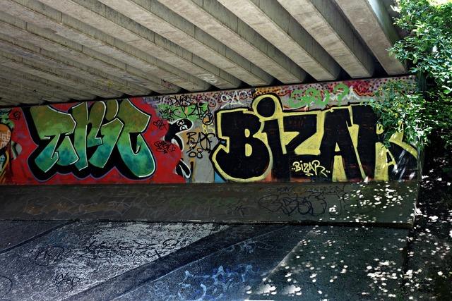 Graffiti wall urban.