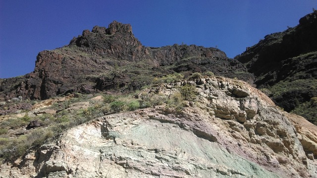 Gran canaria canary islands mountains.