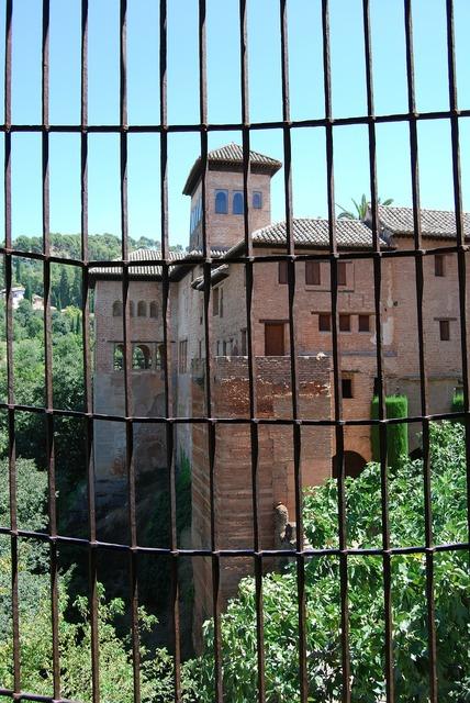 Granada alhambra park.
