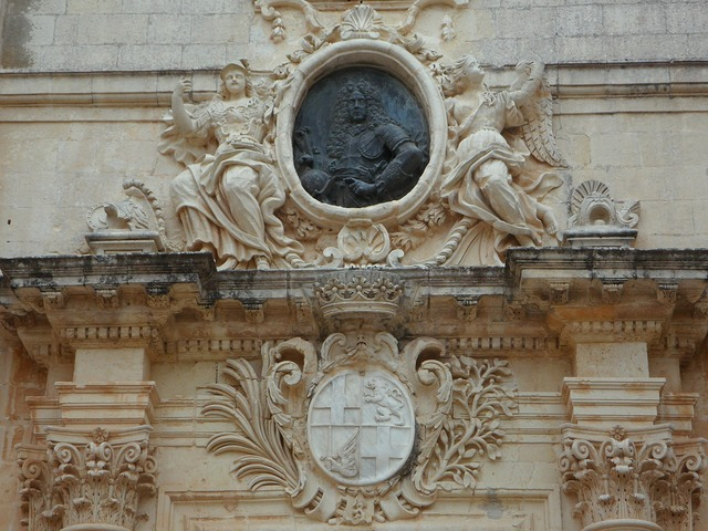 Grand master coat of arms mdina.