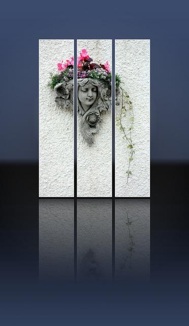 Grave stone tomb stone girl, people.