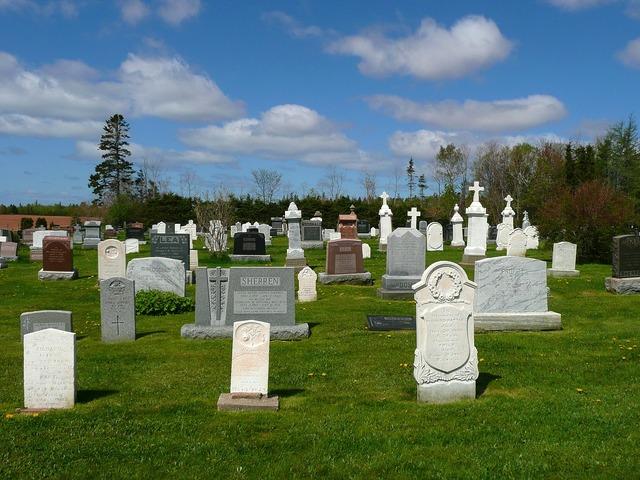 Graves cemetery graveyard.