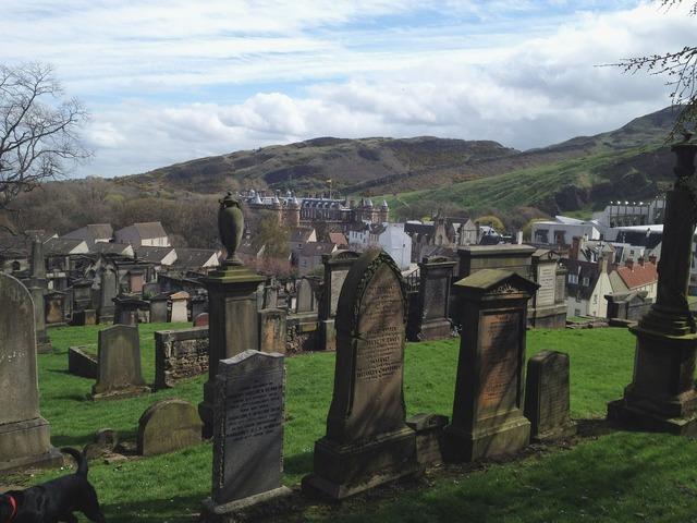 Graves graveyard scotland, architecture buildings.
