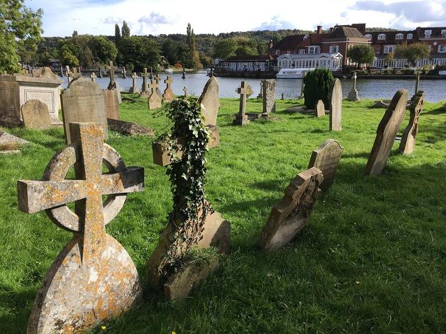 Graveyard grave burial, religion.