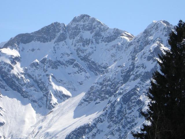 Great ram stein aries stone allgäu alps, nature landscapes.