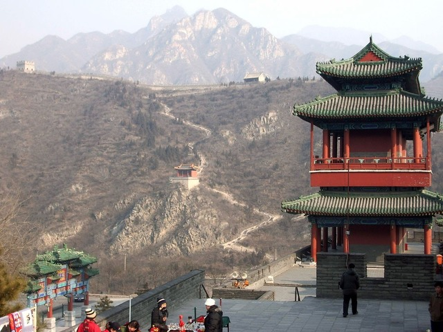 Great wall china, places monuments.