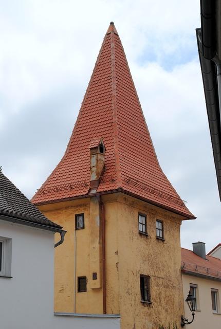 Greding altmühl valley defensive tower.