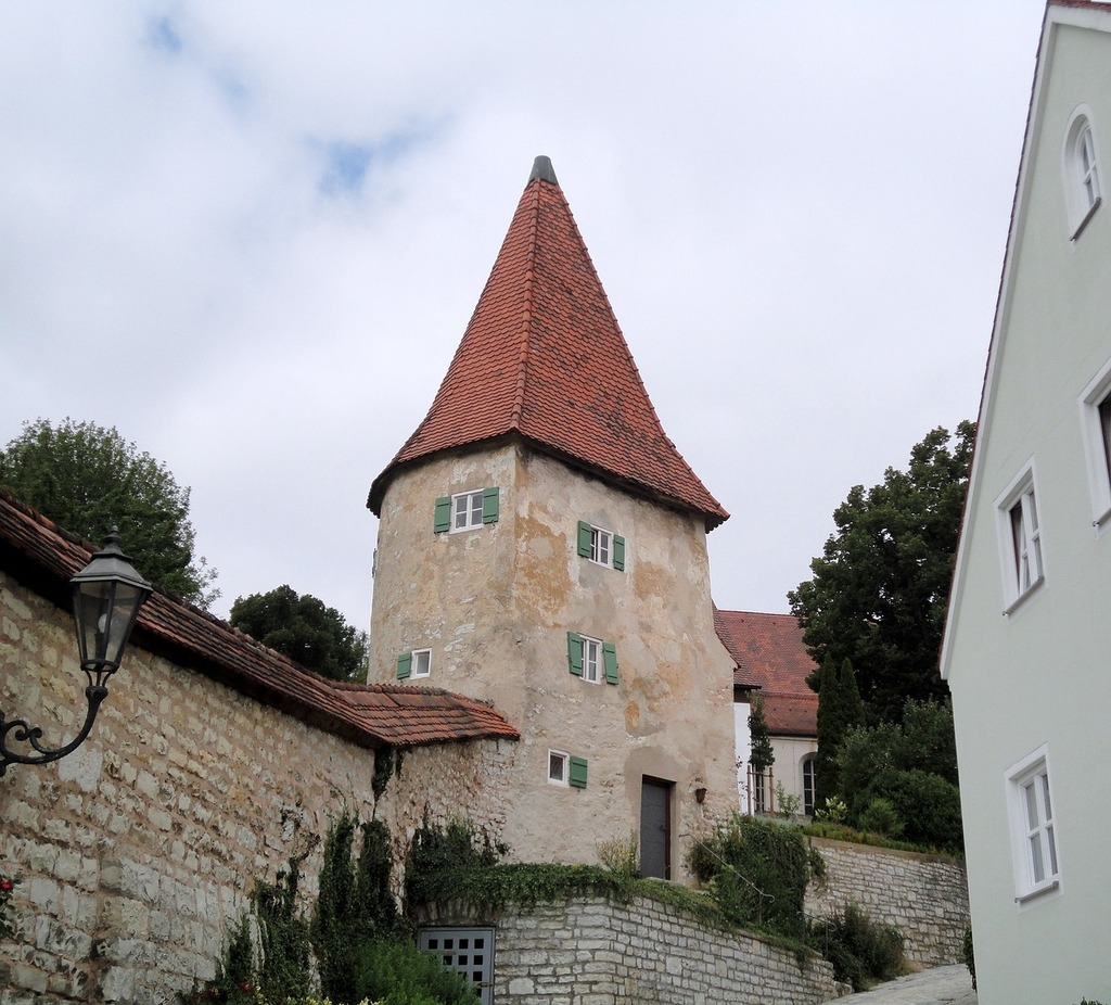 Greding altmühl valley middle ages.