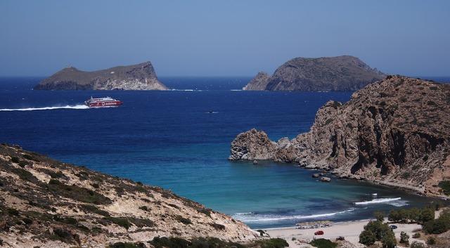 Greece milos mediterranean, travel vacation.