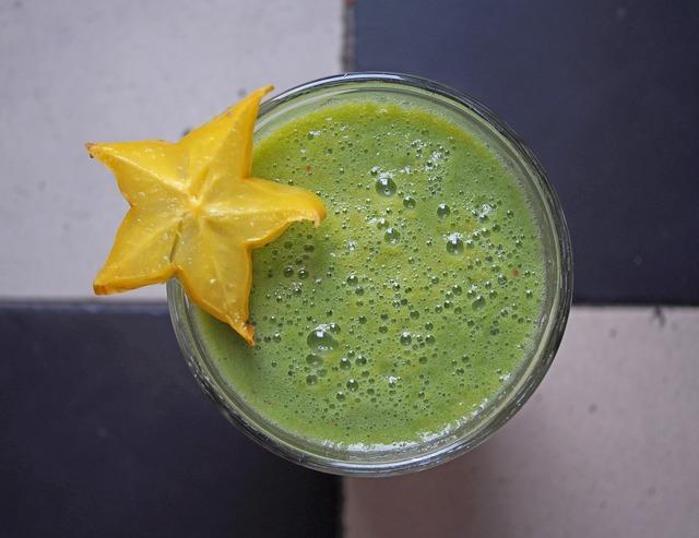 Green smoothie healthy frisch, food drink.