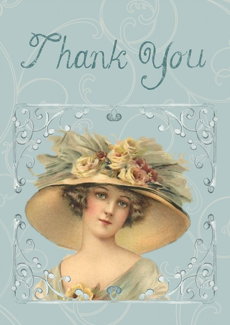 Greeting card vintage victorian, beauty fashion.