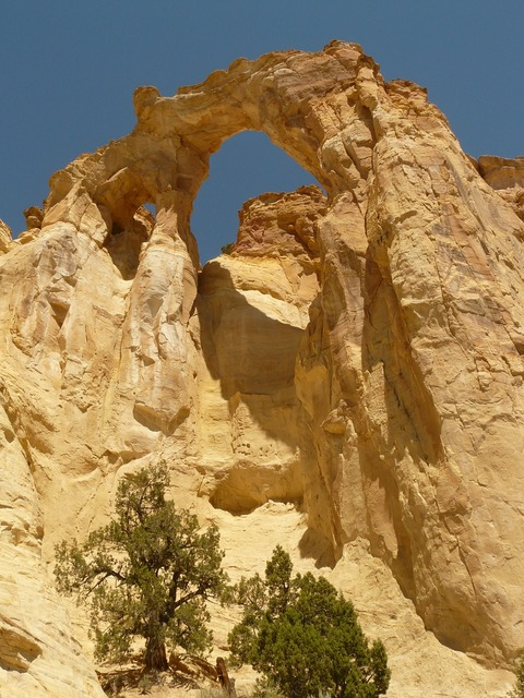 Grosvenor arch grand staircase escalante national park, architecture buildings.