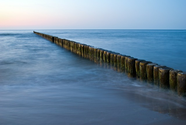 Groynes sea baltic sea, travel vacation.