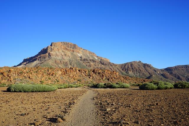 Guajara away path, nature landscapes.