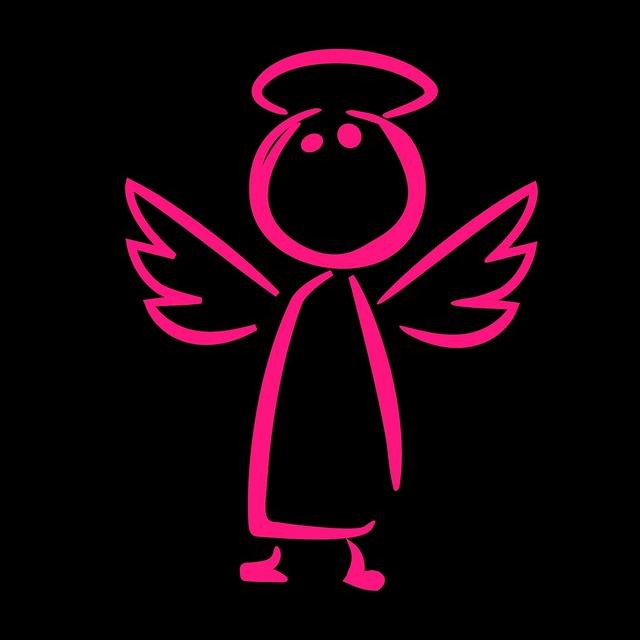 Guardian angel angel figure, backgrounds textures.