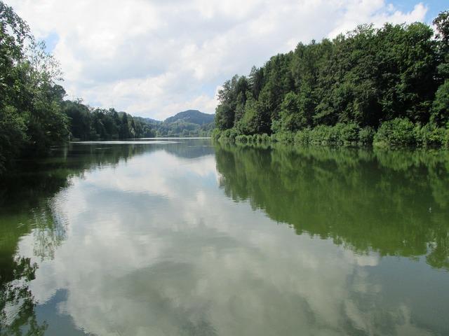 Gübsensee st gallen lake, nature landscapes.