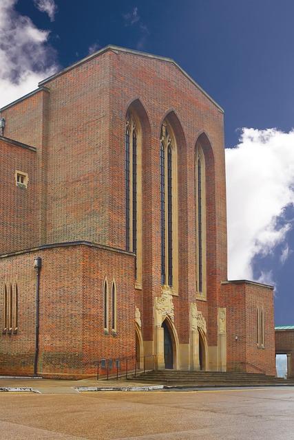 Guildford cathedral surrey, religion.