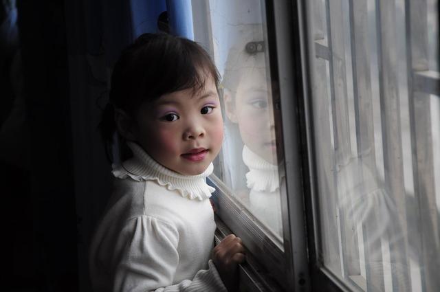 Guilin yongfu child, people.