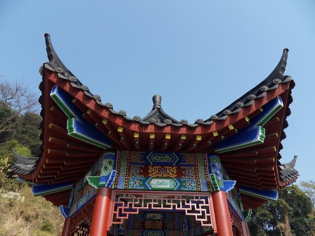 Guilin yongfu fengshan park.