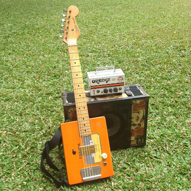 Guitar amplifier speaker, music.