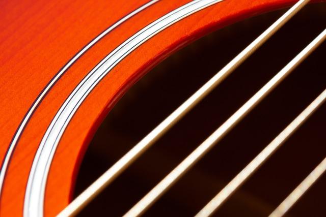 Guitar corpus soundbox.