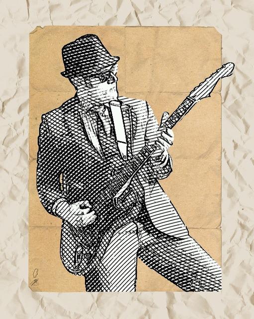 Guitar guitarist electric guitar, music.
