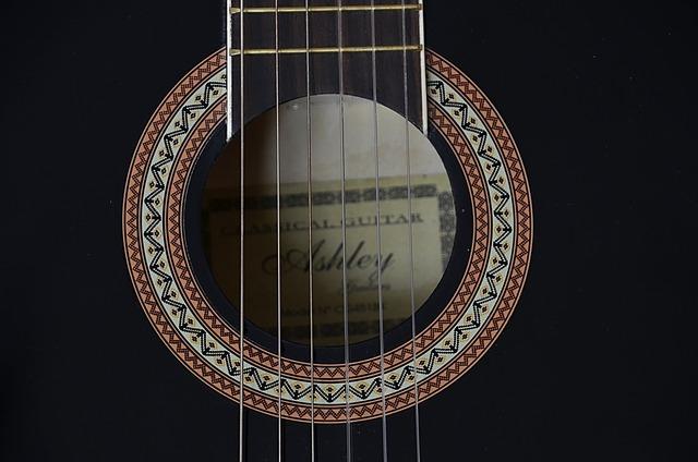 Guitar strings music, music.