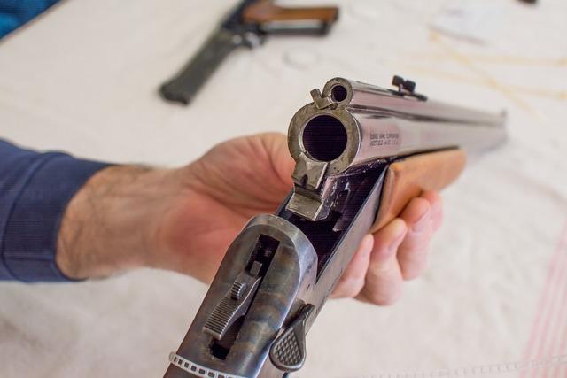 Gun barrel shotgun.