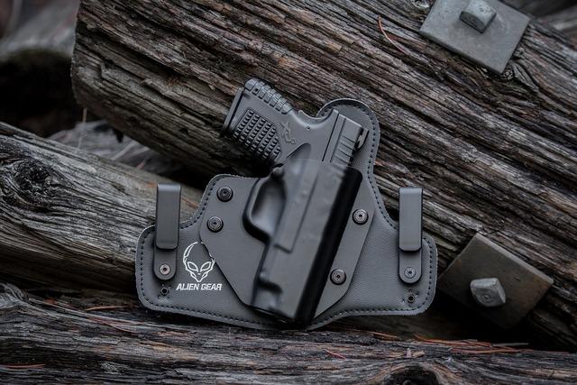 Gun pistol handgun.