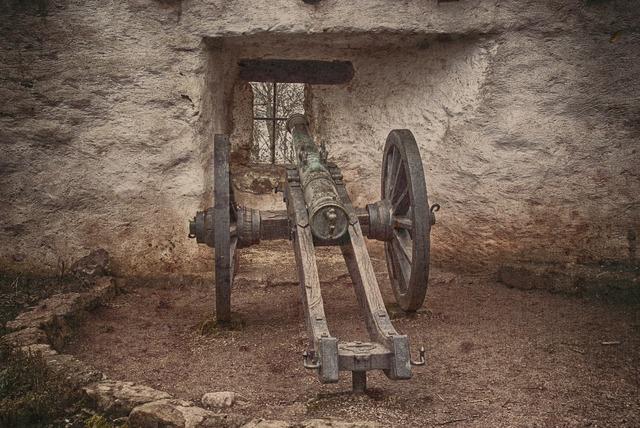 Gun wartburg castle castle.