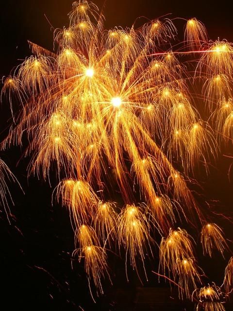 Gunpowder fire articiales celebration.