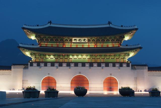 Gwanghwamun seoul gyeongbok palace.