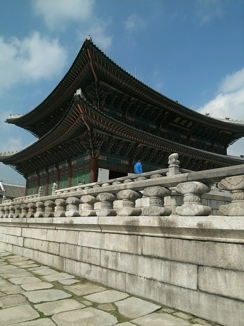 Gyeongbok palace commons shipbuilding.