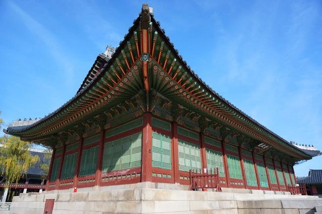 Gyeongbok palace palace palaces, nature landscapes.