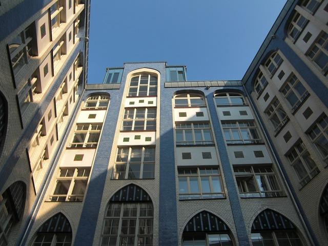 Hackesche höfe berlin facade, architecture buildings.