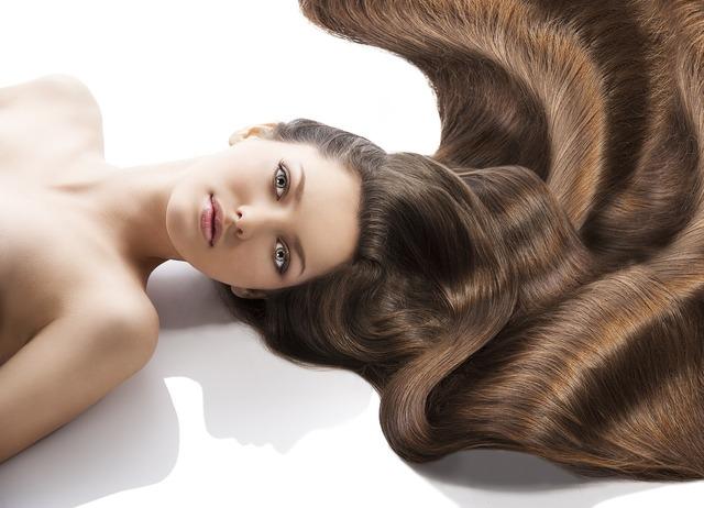 Hair woman model, beauty fashion.