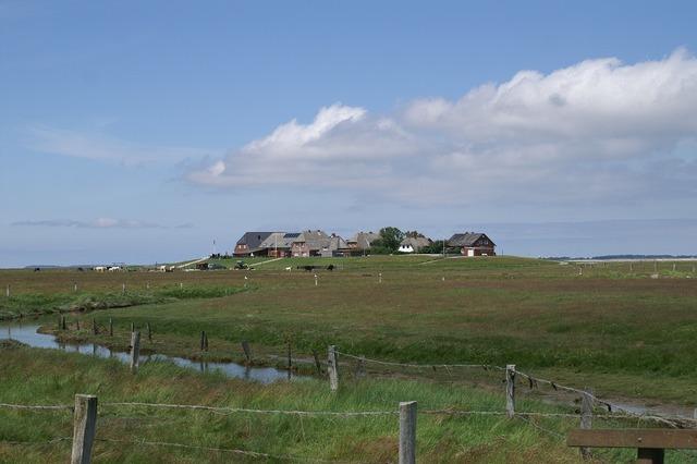 Halligen nordfriesland north sea.