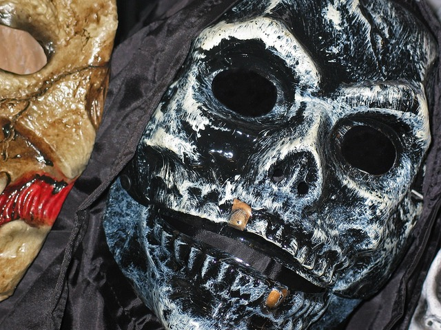Halloween shudder spooky, emotions.