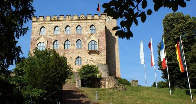 Hambach castle demokratie sachsen.