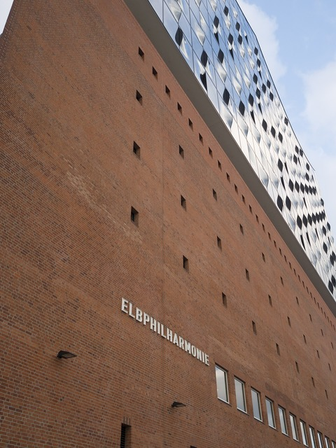 Hamburg germany elbe philharmonic hall, places monuments.