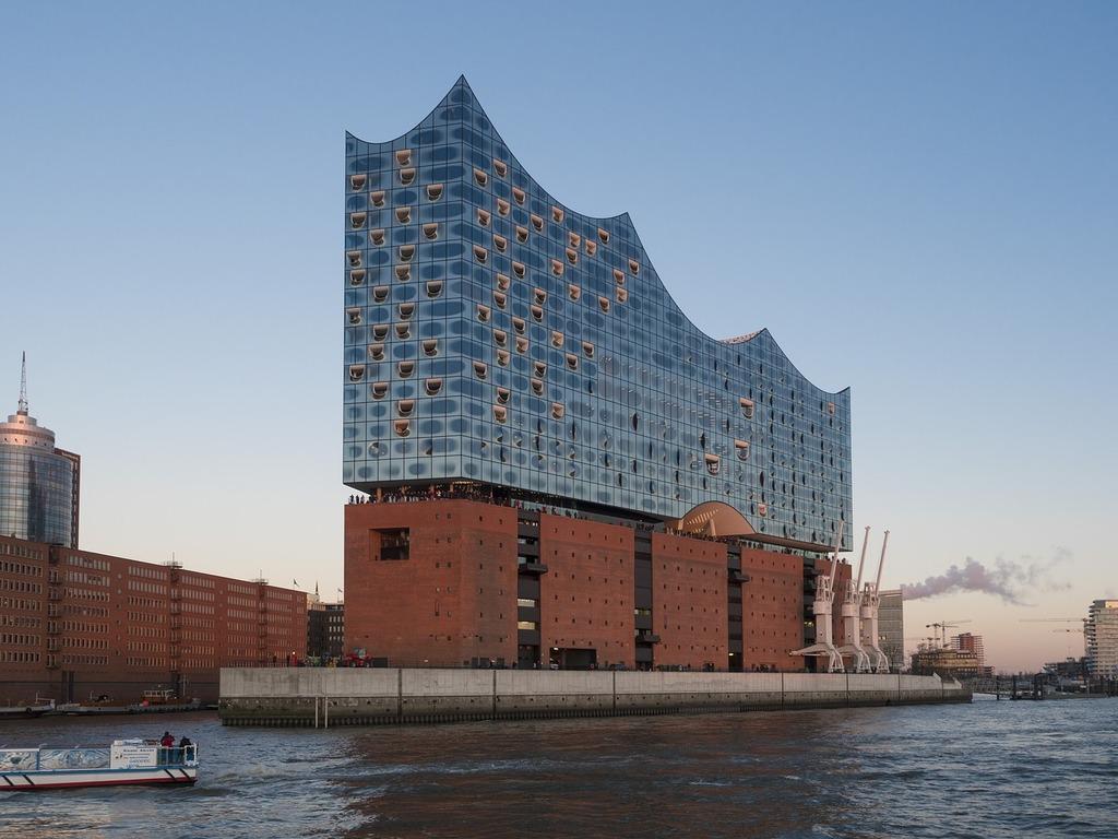 Hamburg germany harbour city, music.