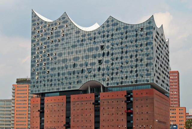 Hamburg philharmonic orchestra elbe philharmonic hall, architecture buildings.